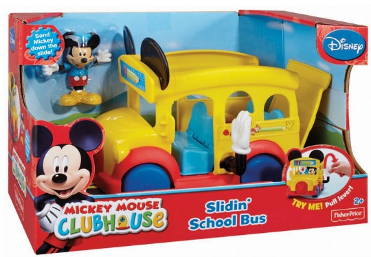 mickey mouse school bus