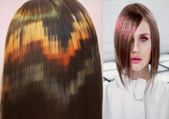 pixelated hair