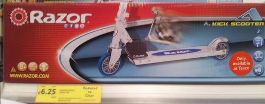 razor scooter tesco pm
