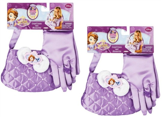 sofia royal pursee and gloves