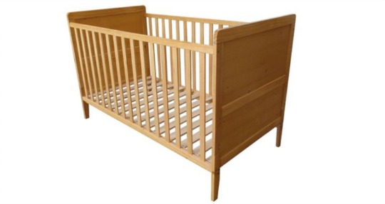 tesco cot bed pm