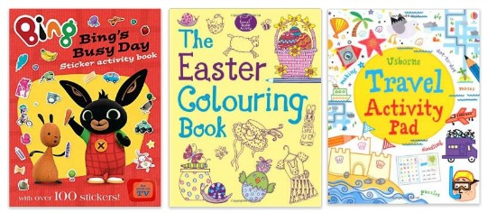 4 for a tenner sticker books pm