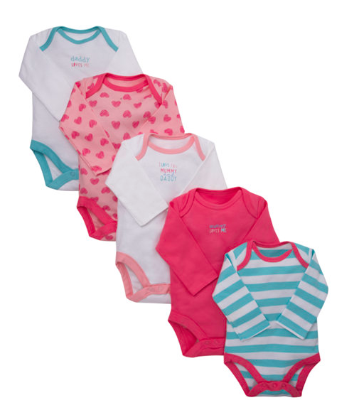 Early Baby and Tiny Baby Bodysuits