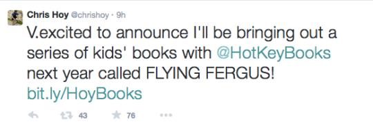 Sir Chris Hoy Children's Books