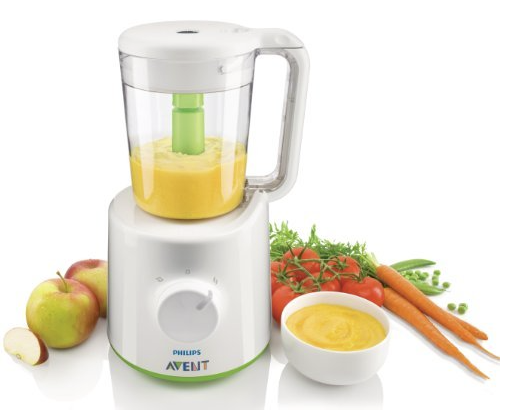 The Philips AVENT Combined Baby Food Steamer and Blender