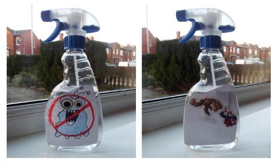 anti monster spray pm