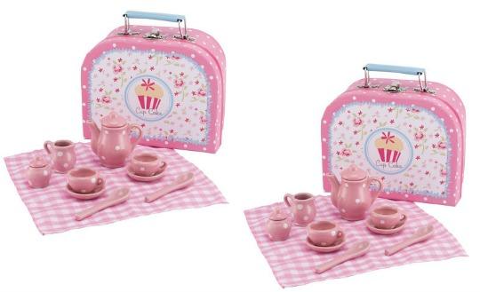 cupcake tea set