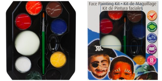 Sandra face paints