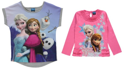 frozen clothing asda pm