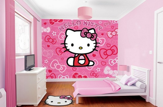 hello kitty wall mural HB pm