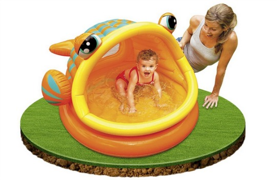 lazy fish baby pool pm