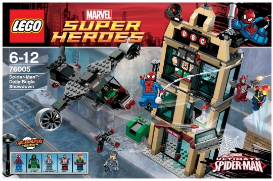lego spiderman pm