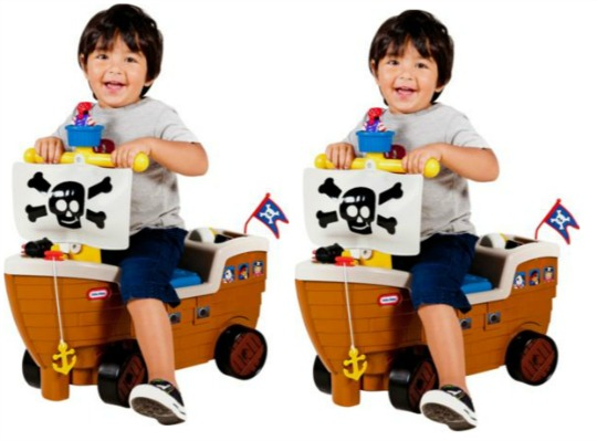 Little Tikes Ride On Toys : Little tikes play n scoot pirate ship ride on playset £