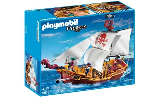playmobil pirate ship pm