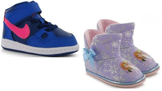 Warehouse Liquidation Sale: Children's Shoes From 79p