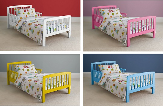 toddler bed asda pm