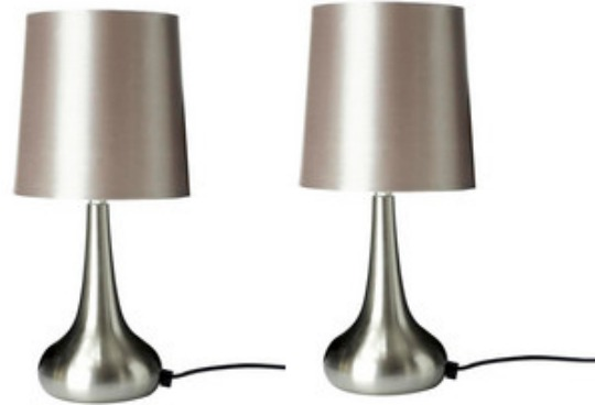taupe rimini touch lamp dunelm mill. Black Bedroom Furniture Sets. Home Design Ideas
