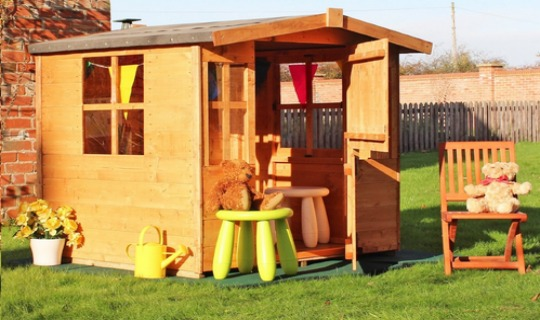wooden playhouse tesco pm