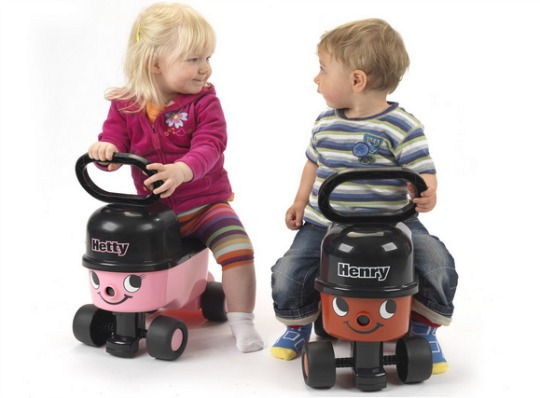 Henry and Hetty Ride On 2 pm