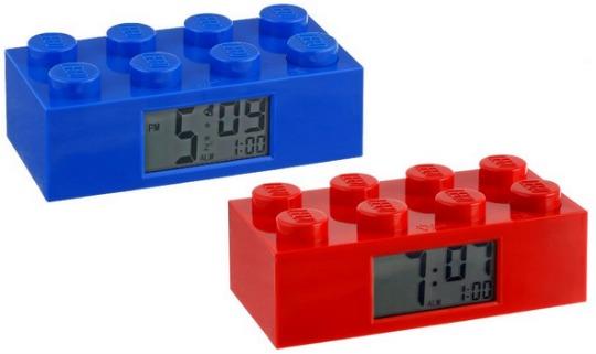 LEGO brick clock pm