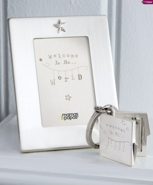 Welcome to the world christening gift set