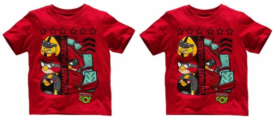 angry birds red go tee pm