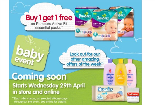 boots baby event april 15 pm