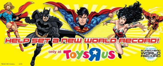 dc superhero toys r us pm