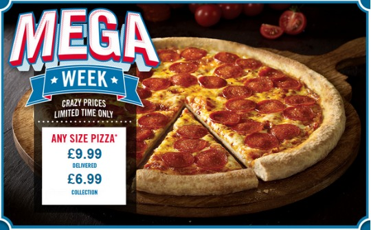 dominos mega week pm
