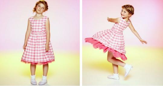 emma bunton gingham dress pm