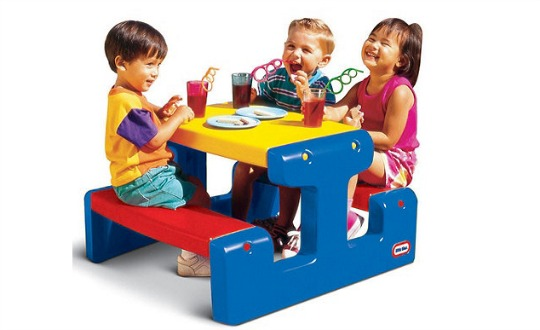 little tikes picnic table debs pm