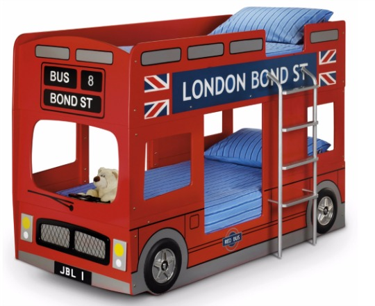 london bus bunk beds pm