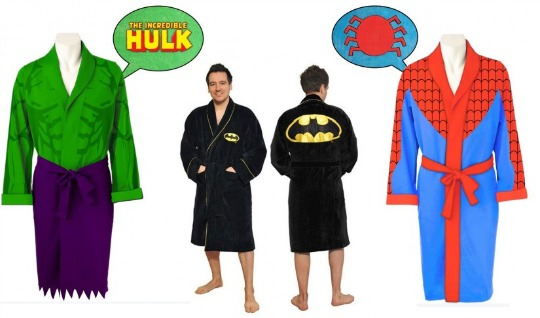 superhero dressing gown pm