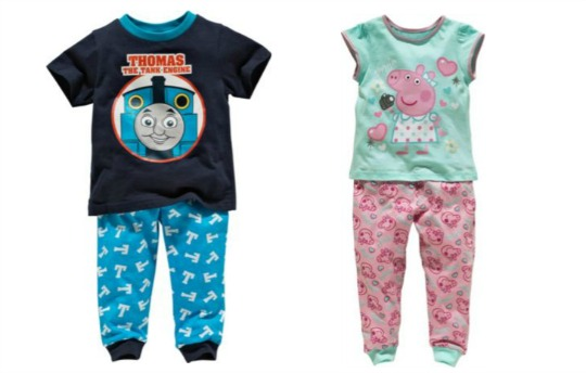 thomas and peppa pjs pm