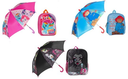 umbrella backpack set pm