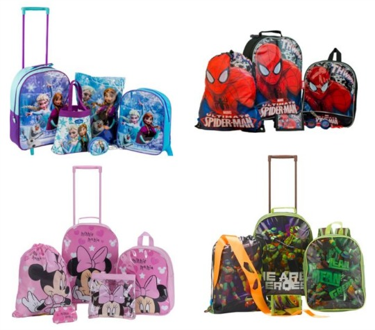 5 piece luggage sets pm