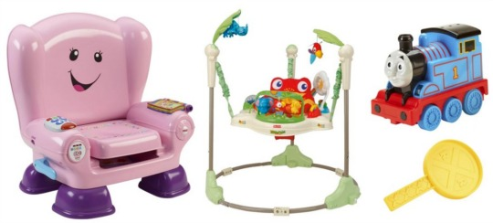 500 points on Fisher Price pm