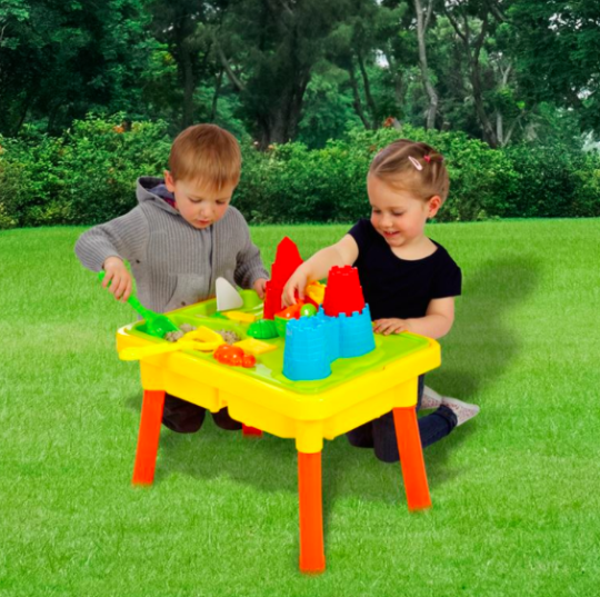 2 in 1 Sand and Water Multiplay Table