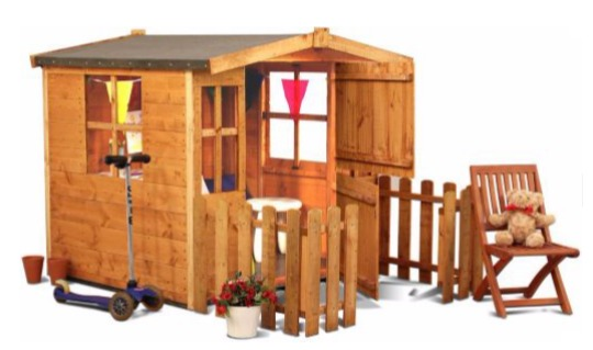 billy-oh playhouse with fence pm