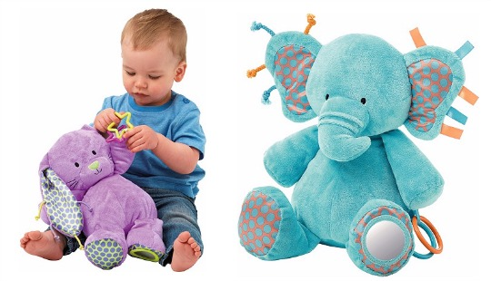 bunny and elephant baby toy pm