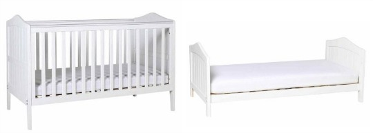 cot bed kiddicare pm