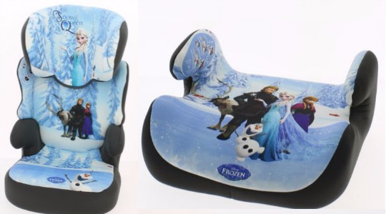 Disney Frozen Car Booster Seats From 932 Argos