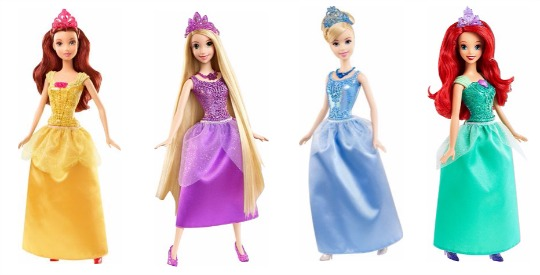 disney princess sparkle dolls pm