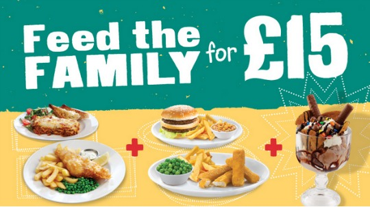 feed the family for £15 HH pm
