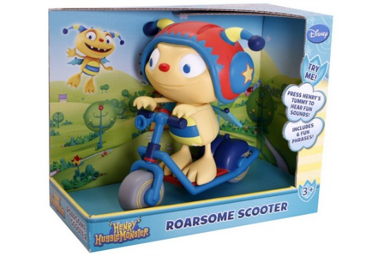 henry hugglemonster scooter pm