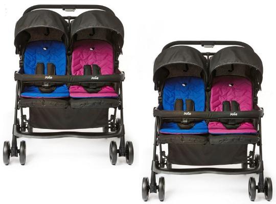 pre order joie aire twin stroller smyths. Black Bedroom Furniture Sets. Home Design Ideas