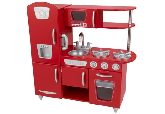 kidkraft red kitchen pm