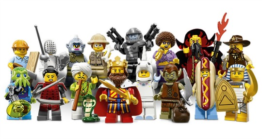 lego minifigs series 13 FB pm