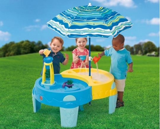 shady oasis sand & water table pm