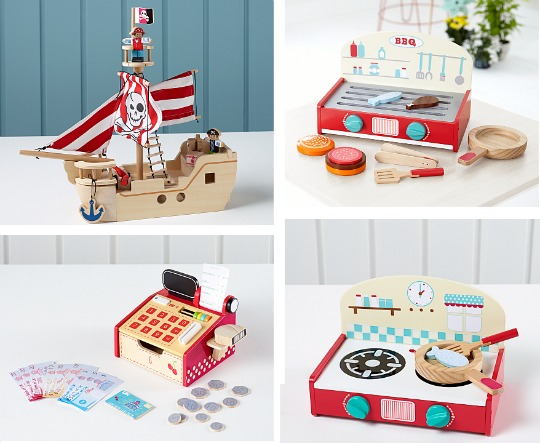 wooden toy sale asda pm